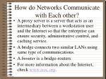 how do networks communicate with each other15
