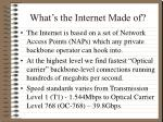 what s the internet made of