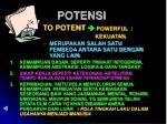 potensi
