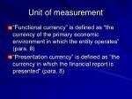 unit of measurement7