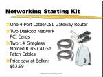 networking starting kit