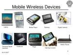 mobile wireless devices