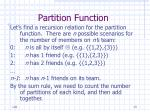 partition function13