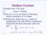 partition function14