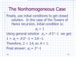 the nonhomogeneous case60