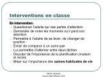 interventions en classe28
