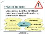 troubles associ s