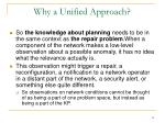 why a unified approach12