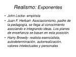 realismo exponentes19