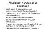 realismo funci n de la educaci n12
