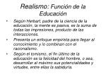 realismo funci n de la educaci n9