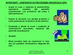 interventi dispositivi di protezione individuale dpi51