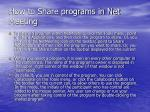 how to share programs in net meeting35
