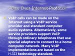 voice over internet protocol7