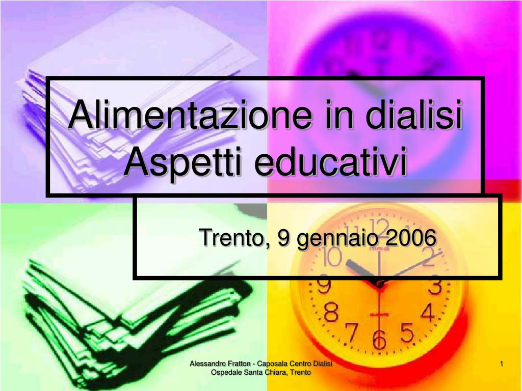 alimentazione in dialisi aspetti educativi l.