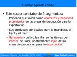 el sector agr cola interno30