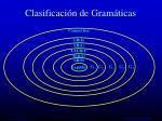 clasificaci n de gram ticas22