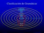 clasificaci n de gram ticas30