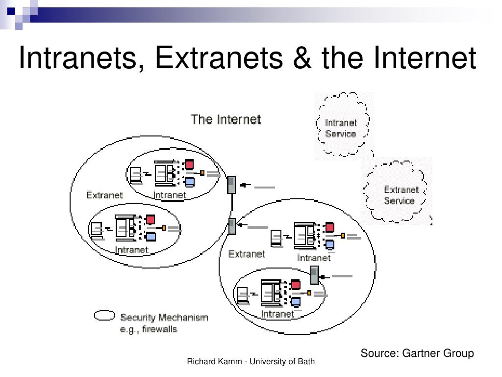 Intranets, Extranets & the Internet