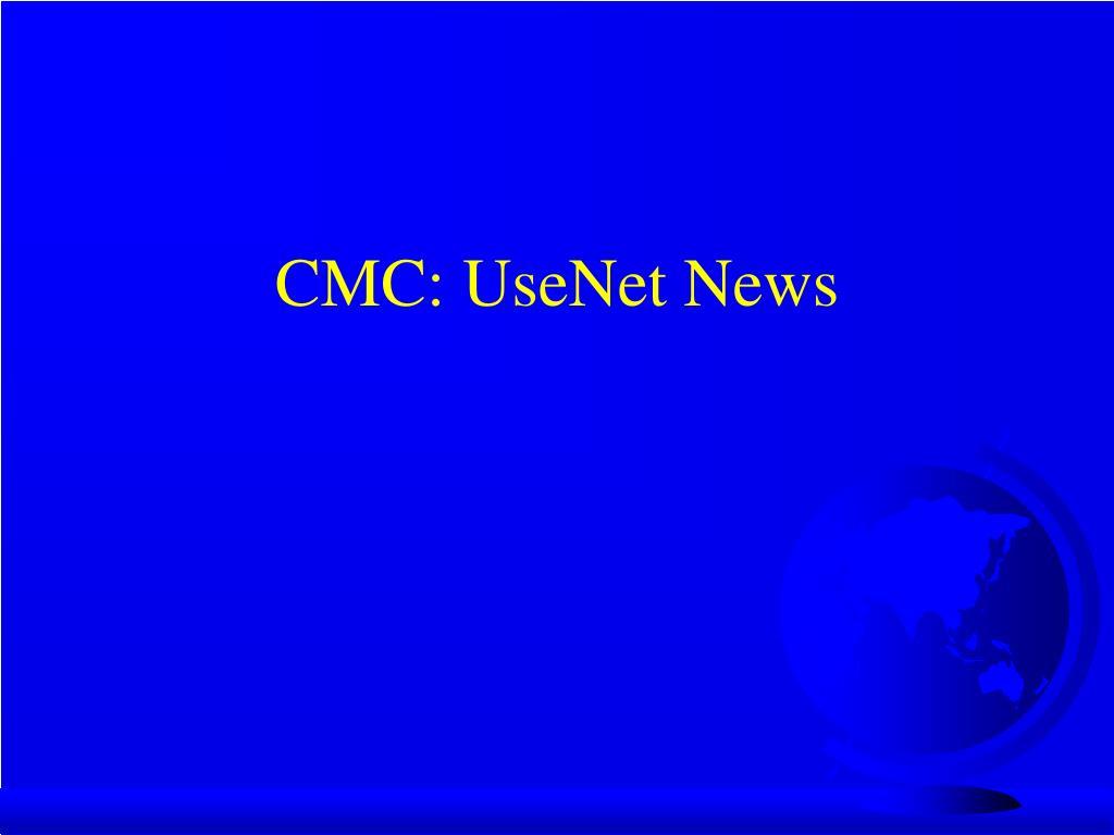 CMC: UseNet News