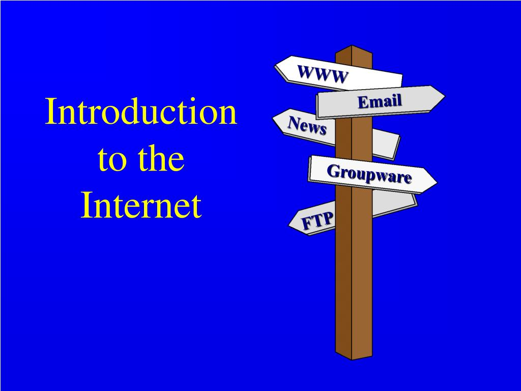an introduction to the internet