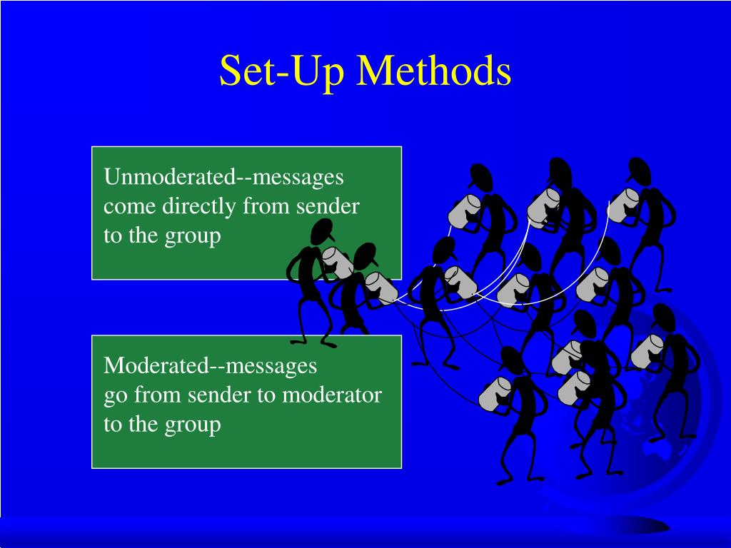 Unmoderated--messages