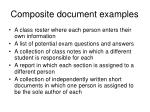 composite document examples