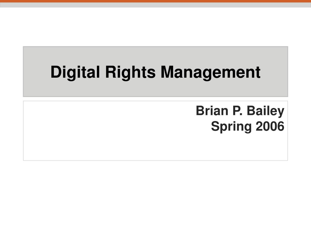 digital rights management l.