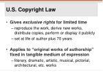 u s copyright law