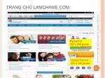 trang ch lamchame com