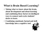 what is brain based learning