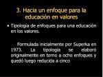 3 hacia un enfoque para la educaci n en valores