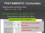 tratamiento corticoides