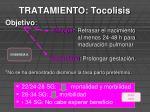 tratamiento tocolisis