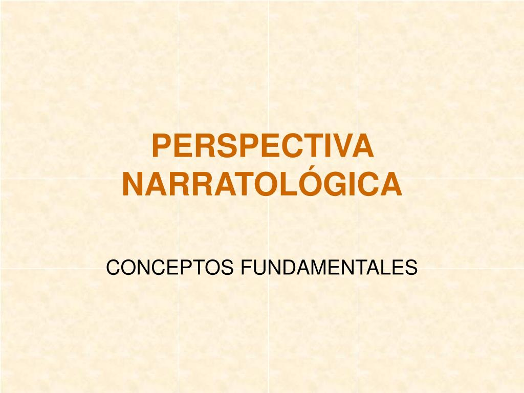 perspectiva narratol gica l.