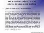 proceso de exportacion a trav s de una agencia mar tima18