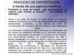 proceso de exportacion a trav s de una agencia mar tima20