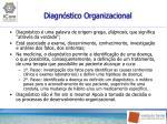 diagn stico organizacional