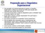 prepara o para o diagn stico organizacional