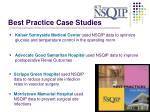 best practice case studies