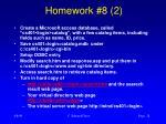 homework 8 2