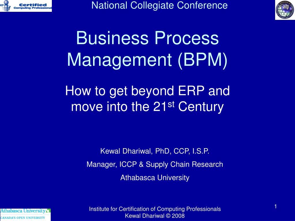 business process management bpm l.