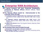 enterprise wan architecture