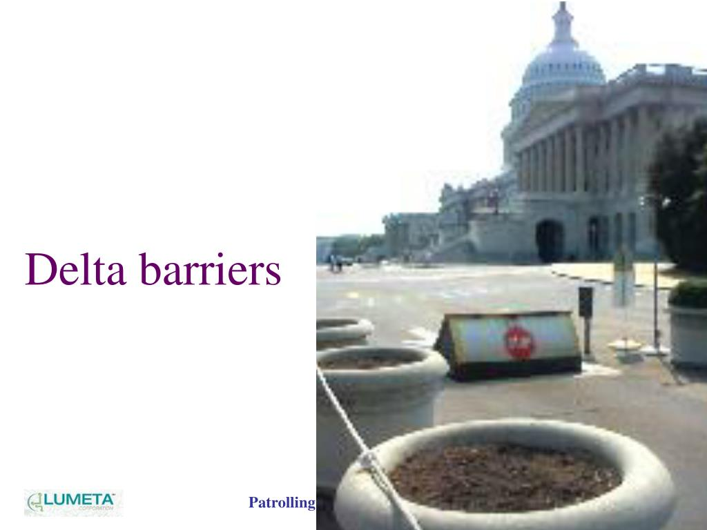 Delta barriers