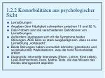 1 2 2 komorbidit ten aus psychologischer sicht