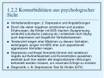 1 2 2 komorbidit ten aus psychologischer sicht10