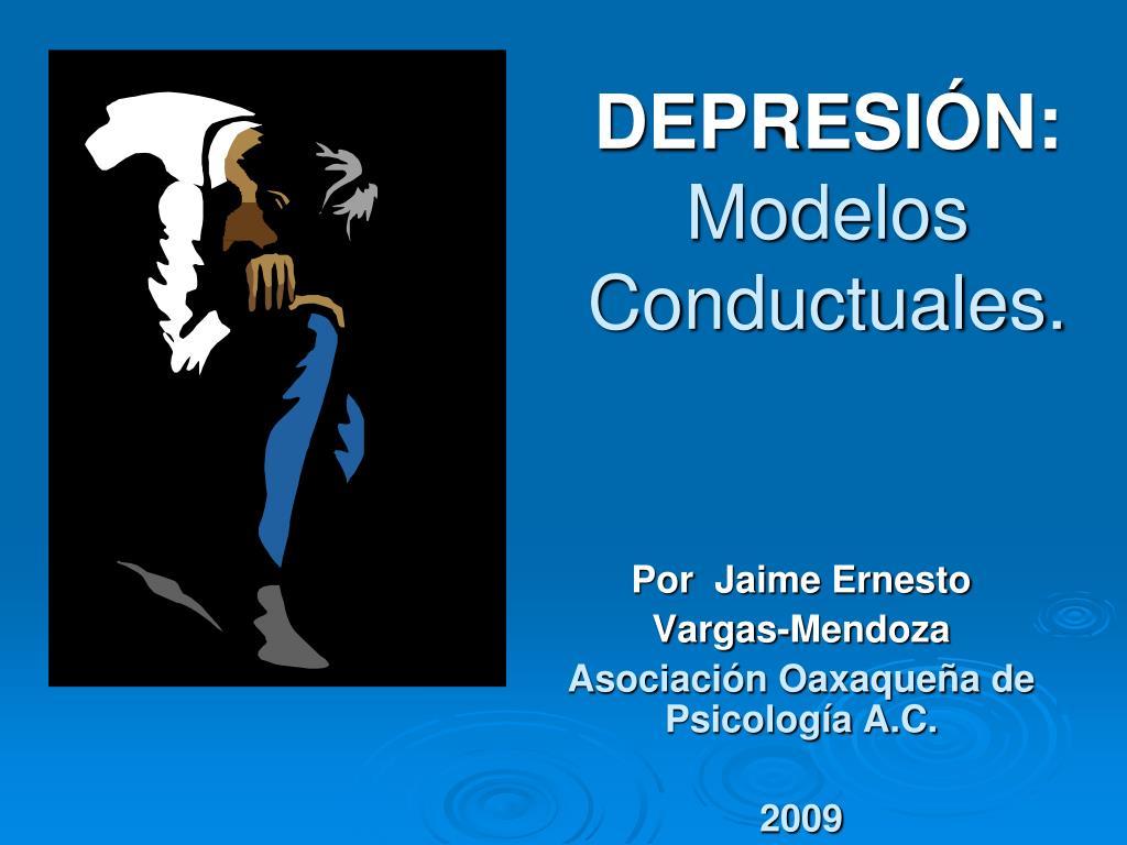 depresi n modelos conductuales l.