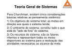 teoria geral de sistemas62