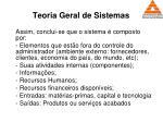 teoria geral de sistemas64