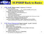 supship back to basics